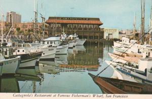 California San Francisco Castagnola's Restaurant At Fishrman's Wharf