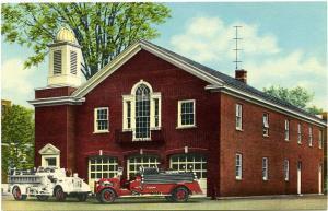 The Fire Station, Homer, Cortland County NY, New York