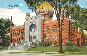 Linen of Tripoli Temple Shrine Mosque. Milwaukee Wisconsin