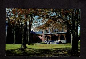 ME Maine Maritime Academy Merchant Marine Castine Maine Postcard