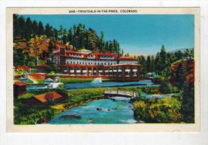 Colorado  Denver , Troutdale-in-the Pines Hotel