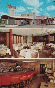New York Utica Diplomat Restaurant And Cocktail Lounge 1957
