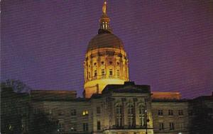 Capitol At Night Atlanta Georgia