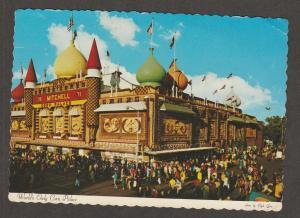 Postcard World's Only Corn Palace Unused Continental Mitchell, South Dakota