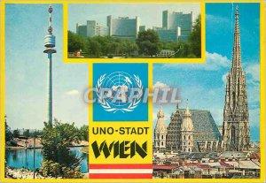 Postcard Modern Uno City Vienna