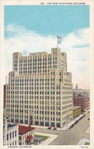 Colorado Denver The New Telephone Building