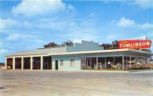 Bartow FL Tomlinson Cadillac Oldsmobile Dealership Postcard