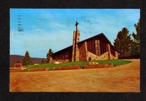 MT St Timothy's Church SOUTHERN CROSS MONTANA POSTCARD
