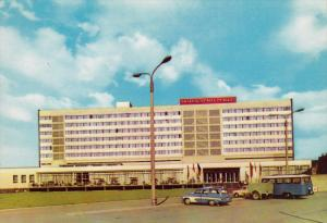 Hotel Stadt Halle, View of the back-sided with sun-terrace, Halle (Saale), Sa...