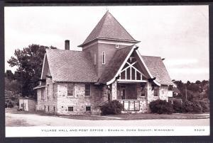 Village Hall and Post Office,Ephraim,WI