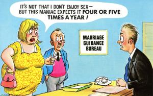 Comic - Marriage Guidance Bureau. Artist: Fitzpatrick. #015 Bamforth Comic Se...