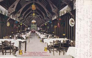 MINNEAPOLIS, Minnesota, PU-1907; The Famous Dutch Room and Pipe Organ,