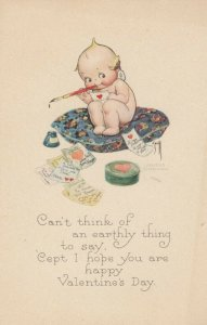 Kewpies ; VALENTINE'S DAY , 1900-10s , AS Rose O'Neill