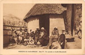 B95148 un apostolat en famille basutoland  Kingdom of Lesotho africa types