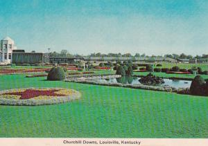 Kentucky Louisville Churchill Downs Formal Gardens and Pools