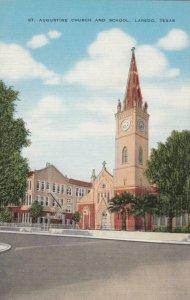 LAREDO , Texas, 30-40s ; St. Augustine Church and School