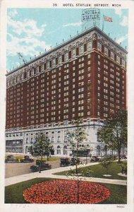 Michigan Detroit Hotel Statler 1929