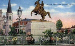 Jackson Statue - New Orleans, Louisiana LA
