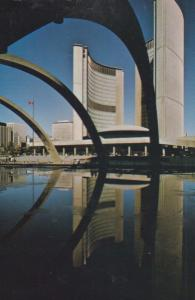 Toronto City Hall Ontario Canada Canadian Postcard