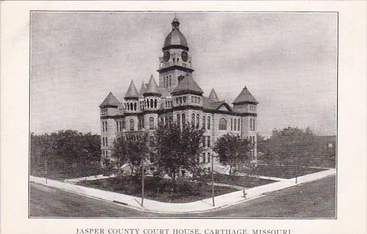 Jasper County Court House Carthage Missouri / HipPostcard