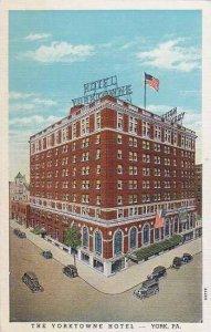 Pennsylvania York The Yorktowne Hotel