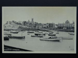 Kent MARGATE HARBOUR - Old Postcard by Valentine Lincoln Green Ltd ME30