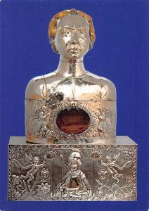 Netherlands Arnhem St. Walburgisbasiliek Reliekbuste St. Eusebius Bust Statue