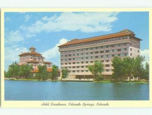 Unused Pre-1980 BROADMOOR HOTEL Colorado Springs Colorado CO hr4971
