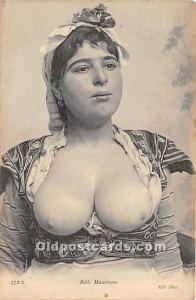 Arab Nude Postcard Belle Mauresque Unused