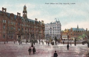 LEEDS , Yorkshire , UK , 00-10s ; Post Office & City Square