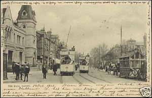 middlesex, EALING, The Mall, Tram, People (1903) Stamp