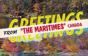 Greetings From the Maritimes Canada 1988