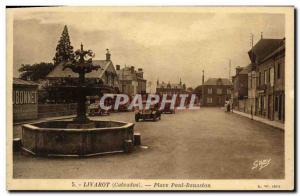 Old Postcard Livarot Place Paul Banaston