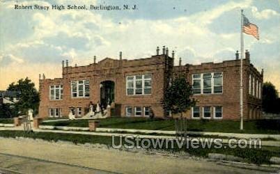 Robert Stacy High School in Burlington, New Jersey