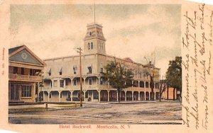Hotel Rockwell Monticello, New York Postcard