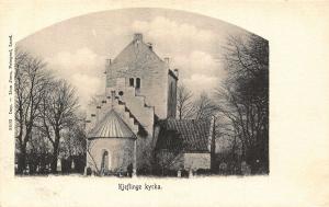 Sweden Kjeflinge Kyrka Church Eglise Postcard