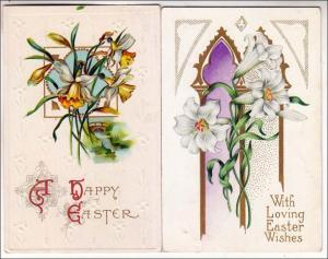 2 - Easter Cards with Flowers