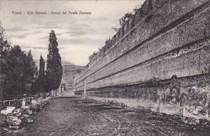 Italy Tivoli Villa Adrlona Avanzi Del Peaile Atenlese