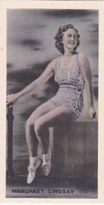 Phillips Vintage Cigarette Card Beauties Of To-Day 1938 No 22 Maragaret Lindsay