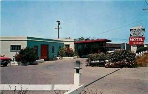 CA, Fort Bragg, California, Ocean View Motel, Mike Roberts SC8950