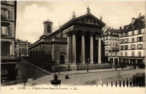 CPA PARIS (9e) Eglise N.-D. de Lorette (534485)