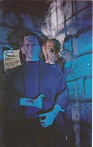 Frankenstein and Wolf Man - Wax Museum - St Petersburg Beach, Florida
