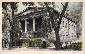 Providence Rhode Island~Athenaeum~Greek Revival Library~Detroit Pub Co~1909 PC