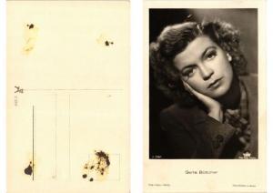 CPA AK Greta Böttcher Verlag 3758/1 FILM STAR (549673)