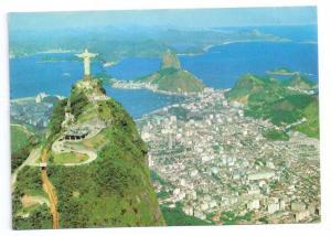 Rio de Janeiro Cristo Redentor Corcovado 1975 4X6 Stamps