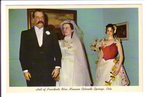 Stephen Cleveland and His Bride, Wedding, Hall of Presidents Wax Museum, Colo...