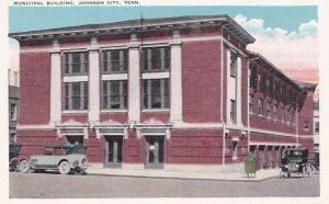 JOHNSON CITY , Tennessee , 1910s ; Municipal Building