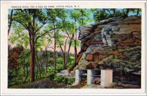 Profile Rock, Tal-A-Que-Ga Park, Little Falls NY