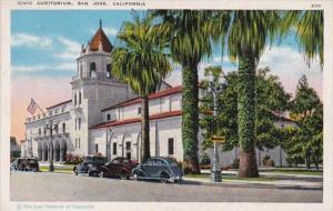 California San Jose Civic Auditorium 1944