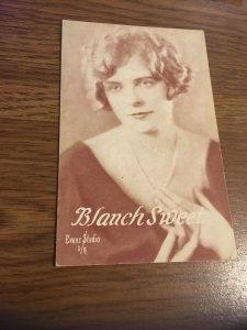 Vintage Postcard  Blanche Sweet  RPPC